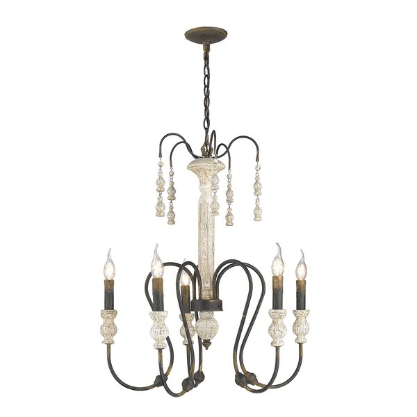 Sherrie 5 Light Candle Style Chandelier With Regard To Recent Corneau 5 Light Chandeliers (View 7 of 30)