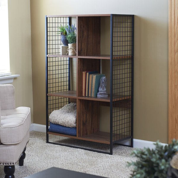 Siebert 6 Cube Standard Bookcasewilliston Forge 2019 Throughout Preferred Xanthe Standard Bookcases (View 14 of 20)