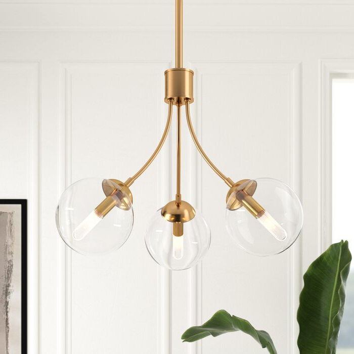 Silvia 6 Light Sputnik Chandeliers With Regard To Newest Marissa 3 Light Sputnik Chandelier (View 12 of 30)