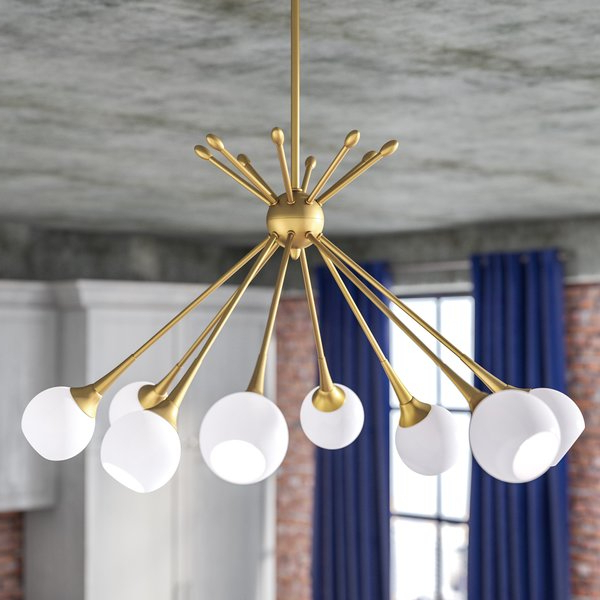 Silvia 8 Light Chandelier In 2019 Silvia 6 Light Sputnik Chandeliers (View 13 of 30)