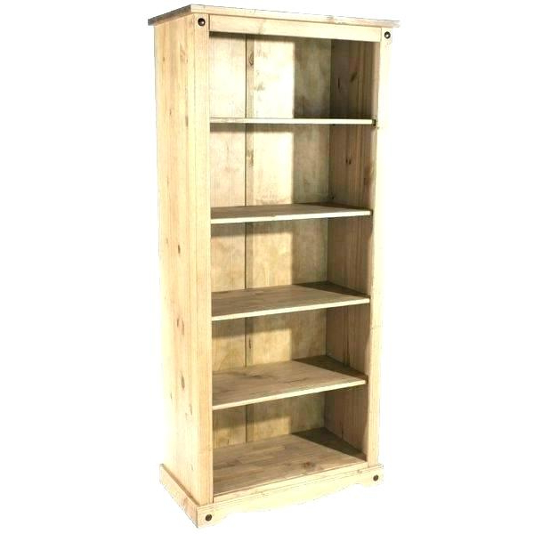 Slim Pine Bookcase – Millyanddottie Within Most Up To Date Narrow Profile Standard Cube Bookcases (View 5 of 20)