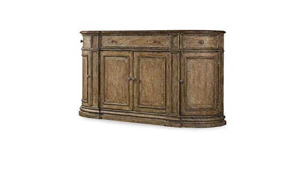 Solana Sideboards With Regard To 2020 Amazon – Hooker Furniture Solana 3 Drawer 4 Door Buffet (View 19 of 20)