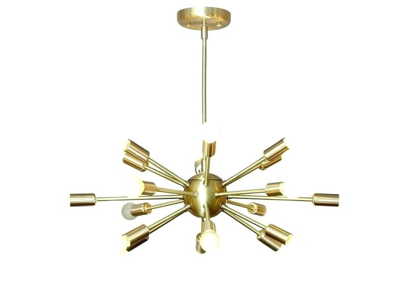 Sputnik 18 Light Chandelier Within Favorite Defreitas 18 Light Sputnik Chandeliers (View 14 of 30)