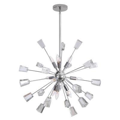 Sputnik – Chandeliers – Lighting – The Home Depot Pertaining To Recent Bautista 5 Light Sputnik Chandeliers (View 26 of 30)