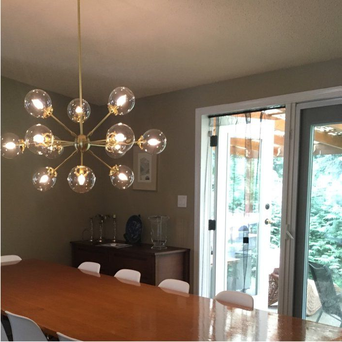 Staggered Glass Chandelier 8 Light – Artofit Throughout Best And Newest Asher 12 Light Sputnik Chandeliers (View 26 of 30)