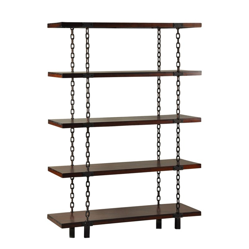Stefani Etagere Bookcase For Fashionable Tinoco Storage Shelf Standard Bookcases (View 7 of 20)