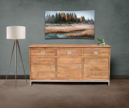 Stella Sideboards With Popular Amazon – Recycled Teak Stella Buffet Madechic Teak (View 15 of 20)