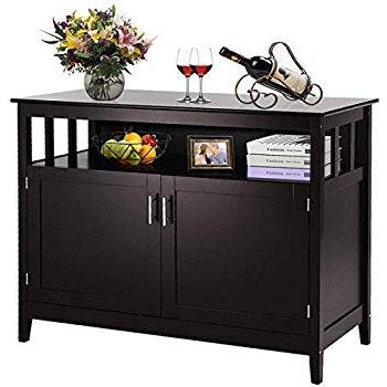 Stennis Sideboards Pertaining To Most Recently Released Amazon – Winsome Wood 20236 Timber Buffet, Black (View 15 of 20)