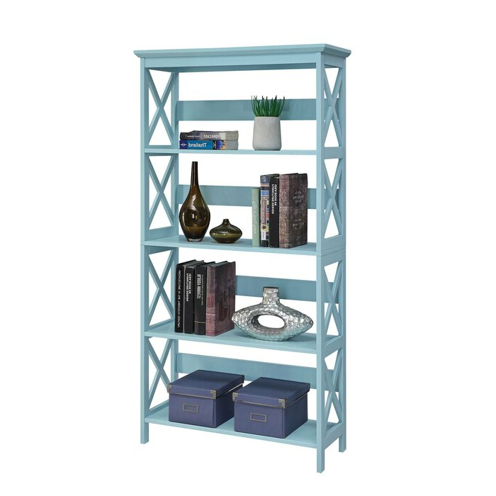 Stoneford Etagere Bookcase Within Well Liked Kettner Etagere Bookcases (View 19 of 20)