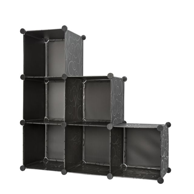 Storage Cube Organizer Bins With 3 Tiers Of Bookcase Modular Cubicals (View 17 of 20)