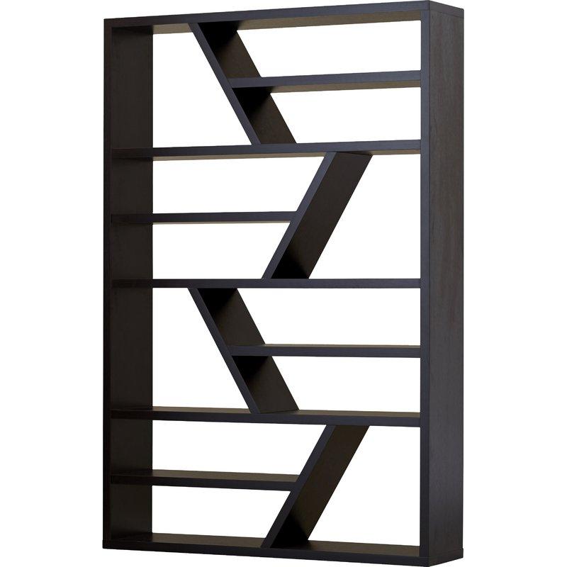Swarey Geometric Bookcases Regarding Popular Swarey Geometric Bookcase (View 4 of 20)