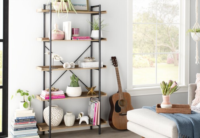 Swindell Etagere Bookcase Throughout Trendy Swindell Etagere Bookcases (View 10 of 20)