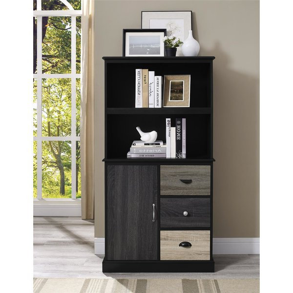 Tami Standard Bookcases With Regard To Widely Used Kinnear Standard Bookcasered Barrel Studio Read Reviews (View 18 of 20)