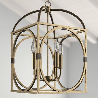Taya 4 Light Lantern Square Pendants For Current Taya 4 Light Lantern Square / Rectangle Pendant (View 20 of 30)