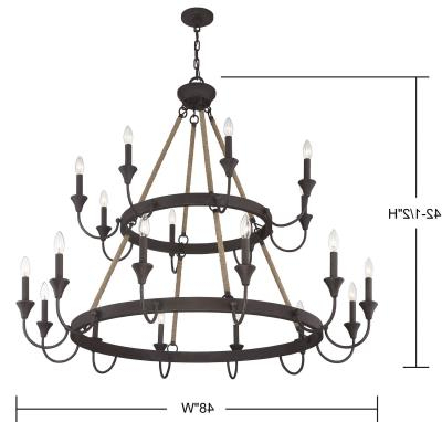 Teche Regarding Popular Sherri 6 Light Chandeliers (Gallery 26 of 30)