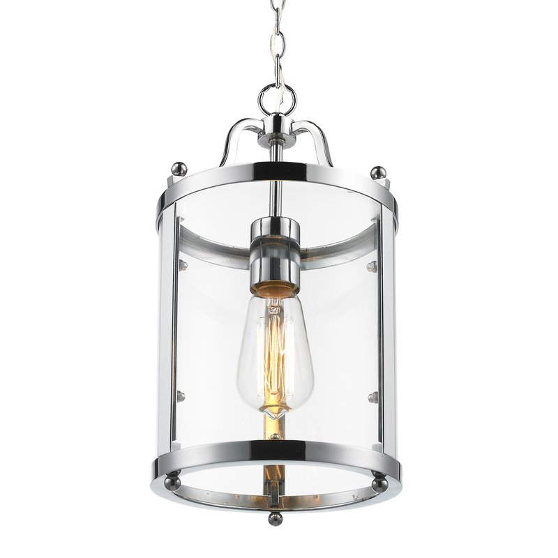 Tessie 1 Light Lantern Cylinder Pendant In Well Known Tessie 3 Light Lantern Cylinder Pendants (View 16 of 30)