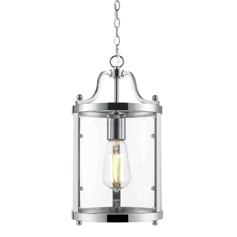 Tessie 1 Light Lantern Cylinder Pendant Inside Most Current Tessie 3 Light Lantern Cylinder Pendants (View 16 of 30)
