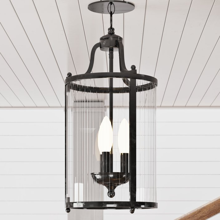Tessie 3 Light Lantern Cylinder Pendants Within 2019 Tessie 3 Light Lantern Cylinder Pendant (View 29 of 30)