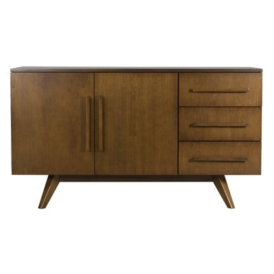 Thatcher Sideboards Pertaining To Most Up To Date Corrigan Studio Tylor Contemporary Sideboard Color: Walnut (Gallery 14 of 20)