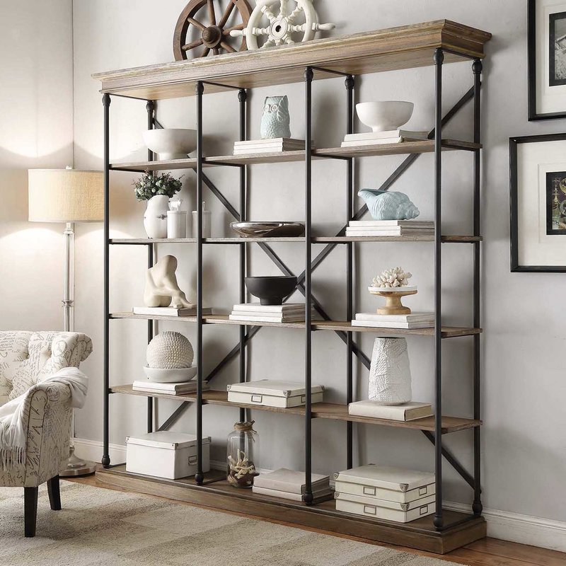 The Brilliant In Addition To Stunning Etagere Bookcase Inside Most Recently Released Caitlyn Etagere Bookcases (Gallery 15 of 20)
