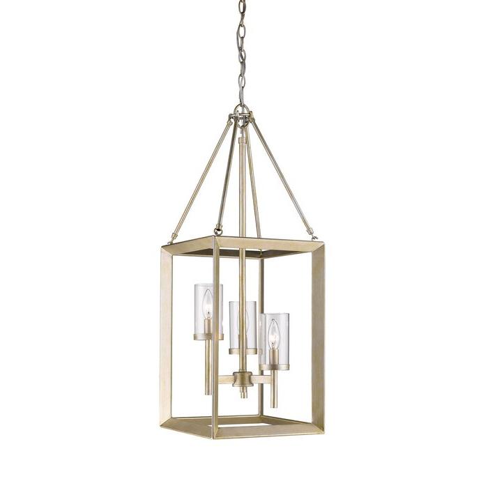 Thorne 3 Light Lantern Square / Rectangle Pendant With Trendy Thorne 6 Light Lantern Square / Rectangle Pendants (Gallery 18 of 30)