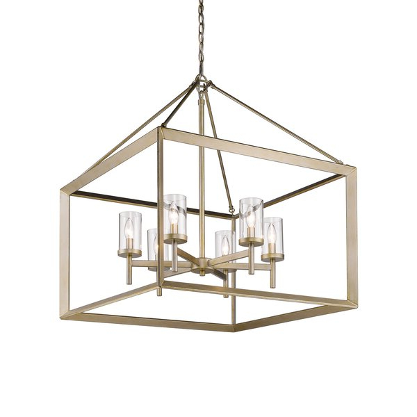 Thorne 6 Light Lantern Square / Rectangle Pendant Throughout Popular Thorne 6 Light Lantern Square / Rectangle Pendants (View 22 of 30)