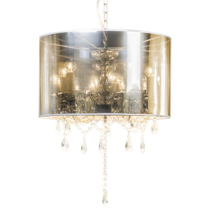 Thresa 5 Light Shaded Chandeliers With Regard To Trendy Chandelier Marie Theresa 5 With Magic Shade (View 6 of 30)