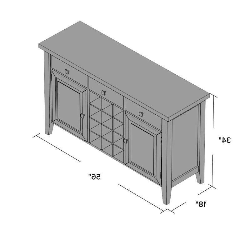Tilman Sideboard With Regard To Recent Tilman Sideboards (View 7 of 20)