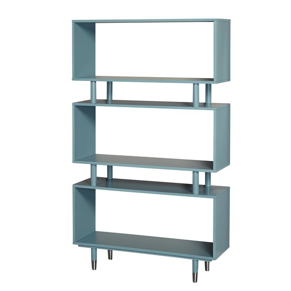 Tinoco Storage Shelf Standard Bookcases For 2019 Modern & Contemporary Etageres (View 10 of 20)