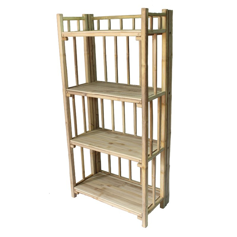Tinoco Storage Shelf Standard Bookcases In Trendy Cristopher 4 Tier Standard Bookcase (Gallery 11 of 20)