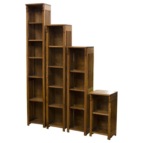 Tinoco Storage Shelf Standard Bookcases Intended For Preferred Tinoco Storage Shelf Standard Bookcasered Barrel Studio (View 15 of 20)
