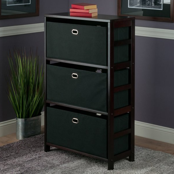Featured Photo of Tinoco Storage Shelf Standard Bookcases