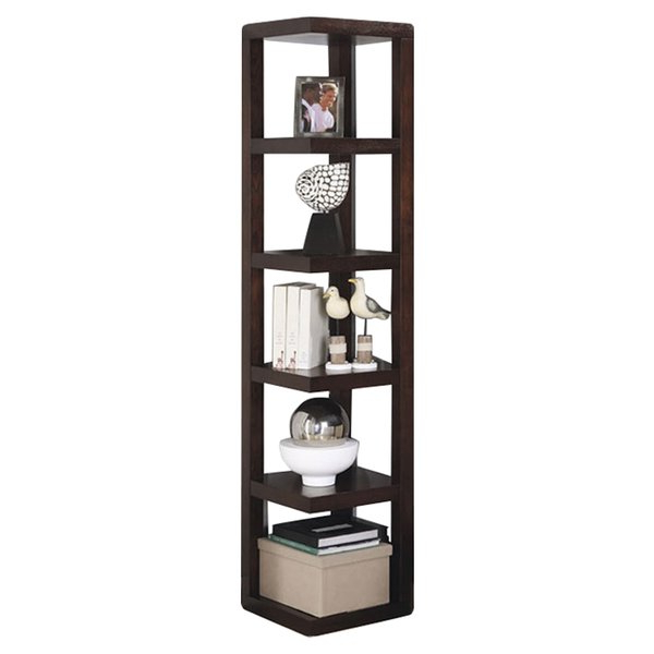 Tisha Corner Bookcases With Regard To Popular Corner Bookshelves You'll Love In (View 15 of 20)