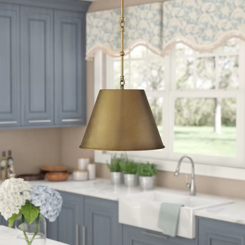Trendy Alden 3 Light Single Globe Pendants Throughout Lonan 1 Light Single Cone Pendant (Gallery 26 of 30)