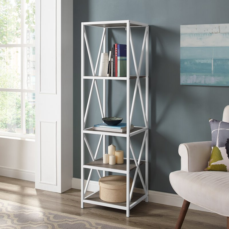 Trendy Augustus Etagere Bookcase Pertaining To Augustus Etagere Bookcases (Gallery 4 of 20)