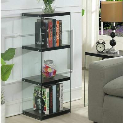 Trendy Daria Standard Bookcases With Calorafield 4 Tier Tower Standard Bookcase (Gallery 17 of 20)