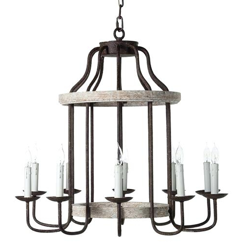 Trendy Electric Candle Light Chandelier Pillar Hanging Tea Modern With Shaylee 6 Light Candle Style Chandeliers (View 28 of 30)
