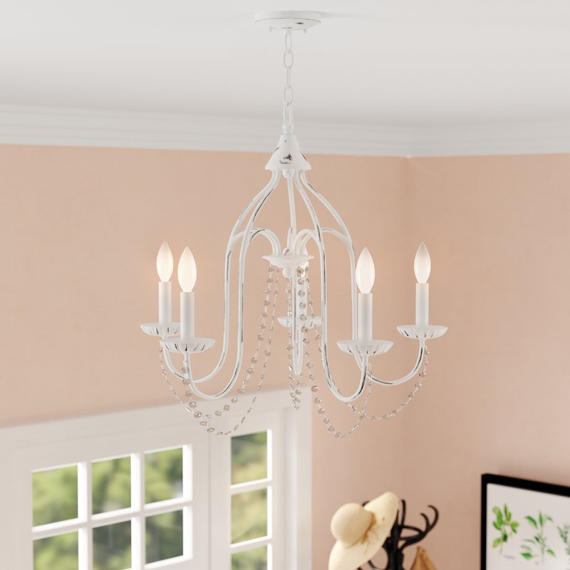 Trendy Florentina 5 Light Candle Style Chandeliers With Regard To Florentina 5 Light Candle Style Chandelier (View 5 of 30)