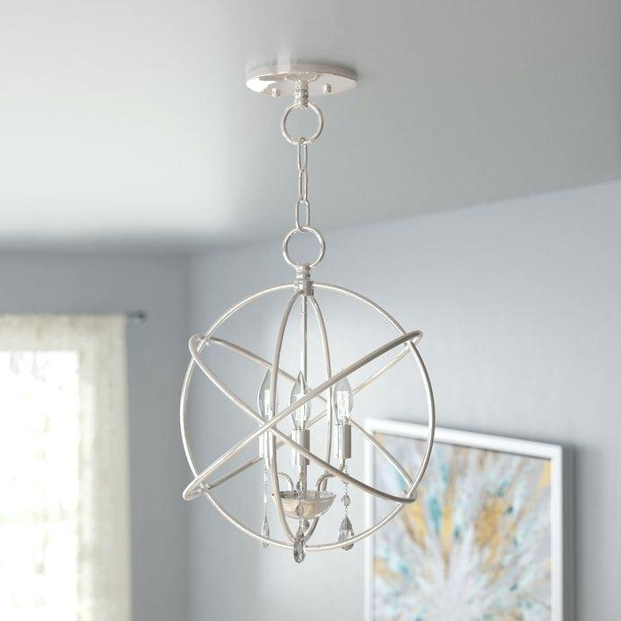 Trendy Globe Light Chandelier – Dabun Intended For Shipststour 3 Light Globe Chandeliers (Gallery 23 of 30)