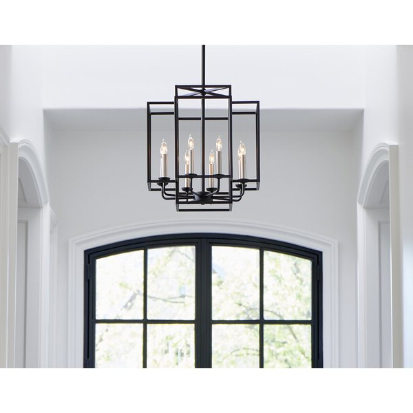Trendy Ine 8 Light Lantern Pendant Throughout Freeburg 4 Light Lantern Square / Rectangle Pendants (View 27 of 30)