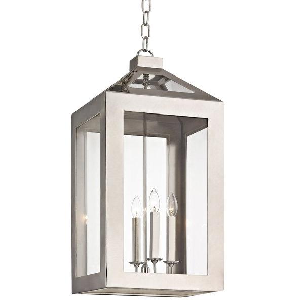 Trendy Nisbet 4 Light Lantern Geometric Pendants With Regard To Artus 4 Light Lantern Rectangle Pendant (View 27 of 30)