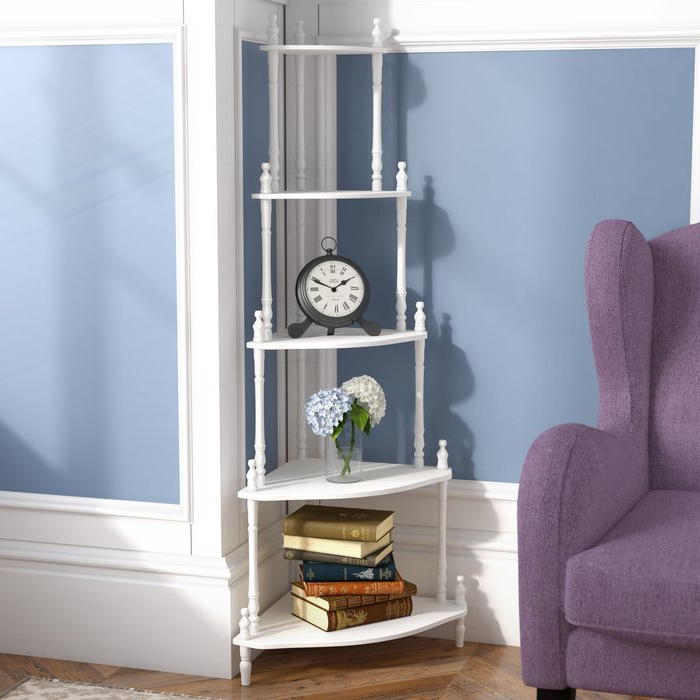 Trendy Ogden Corner Unit Bookcases In Ogden Corner Unit Bookcase (Gallery 1 of 20)