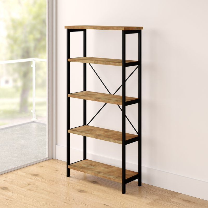 Trendy Parthenia Etagere Bookcases Intended For Parthenia Etagere Bookcase (View 9 of 20)