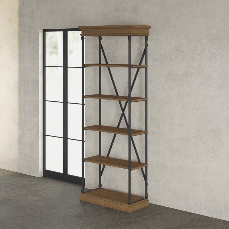 Trendy Poynor Etagere Bookcase Within Poynor Etagere Bookcases (Gallery 7 of 20)