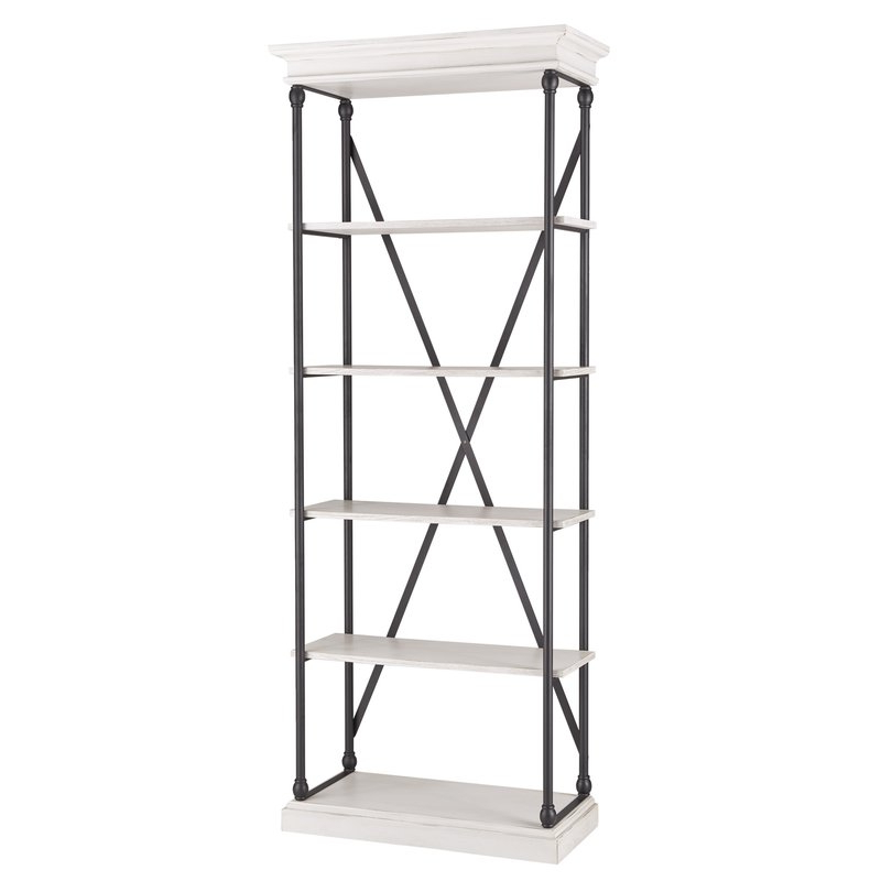 Trendy Poynor Etagere Bookcases Throughout Poynor Etagere Bookcase (Gallery 9 of 20)