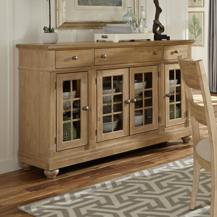 Trendy Saguenay Sideboards Pertaining To Saguenay Sideboard (View 18 of 20)