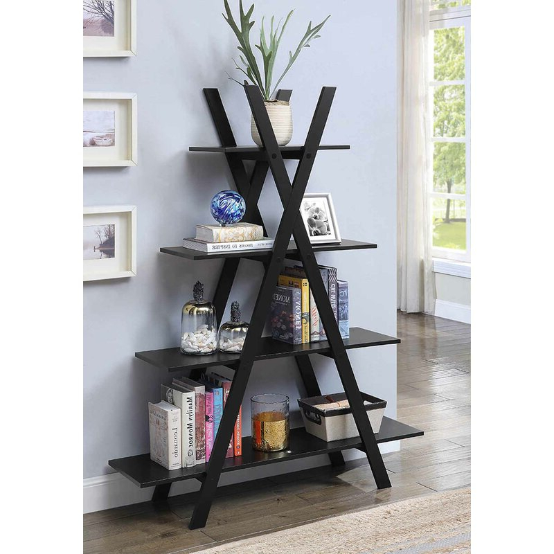 Trendy Saskia Etagere Bookcases Pertaining To Stoneford Etagere Bookcase (View 20 of 20)