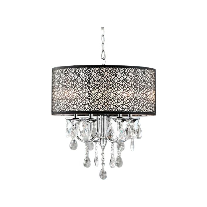 Trendy Sinead 4 Light Chandeliers Pertaining To Sinead 4 Light Chandelier (Gallery 1 of 30)