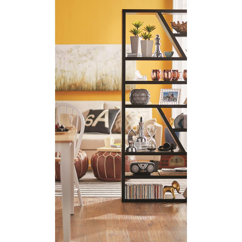 Trendy Swarey Geometric Bookcases Pertaining To Swarey Geometric Bookcase (View 10 of 20)