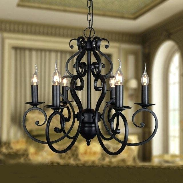 Trendy Watford 9 Light Candle Style Chandeliers Throughout Black Candle Chandelier – Donnetteangers.co (Gallery 11 of 30)